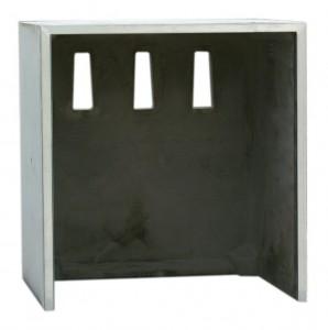 Unterstellbox Sichtbeton ohne Türen 80-S